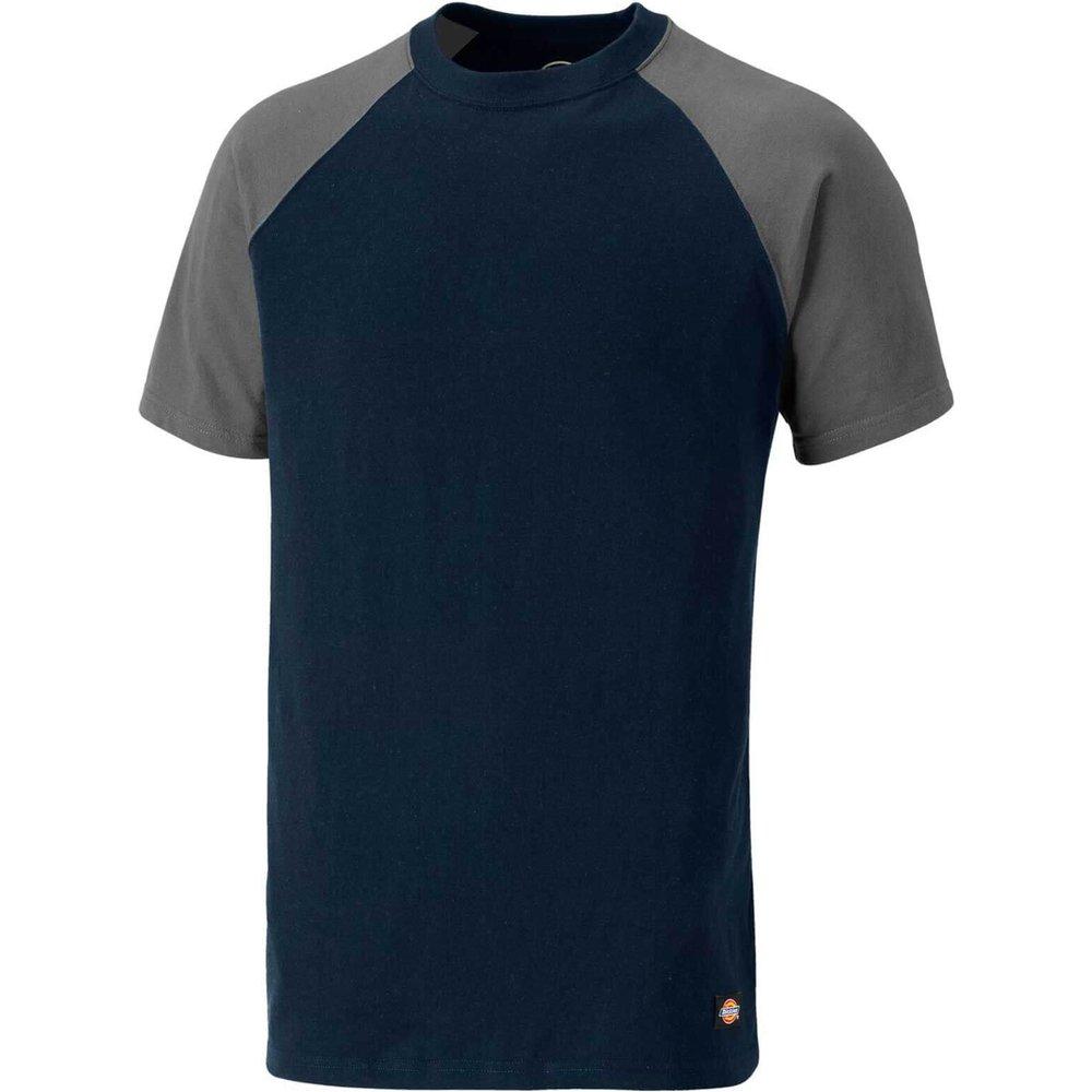 Dickies Two Tone T-Shirt Navy / Grey 3XL
