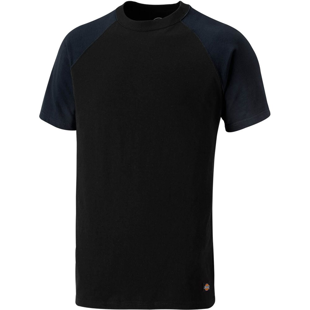 Dickies Two Tone T-Shirt Navy / Black L