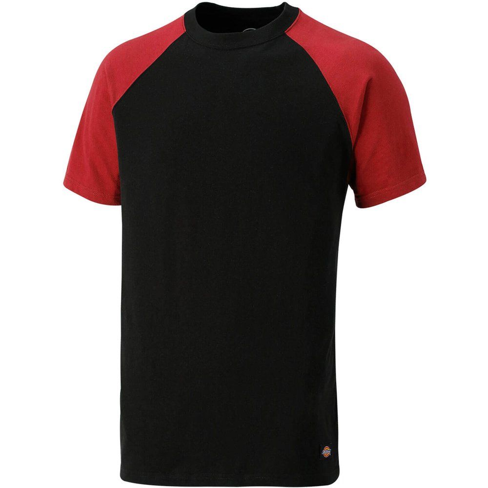 Dickies Two Tone T-Shirt Red / Black L