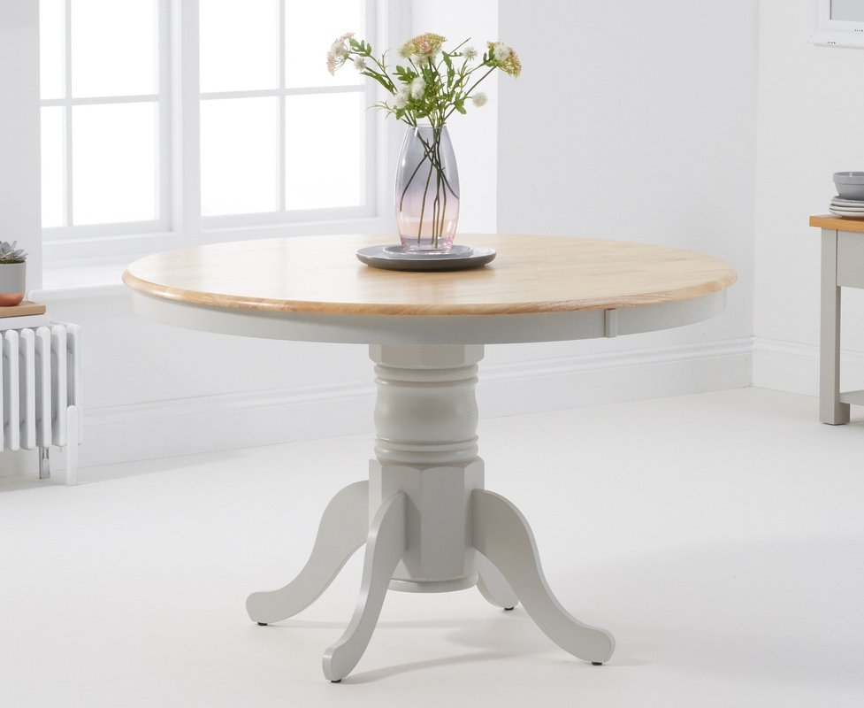 Photo of Epsom 120cm Grey And Oak Dining Table