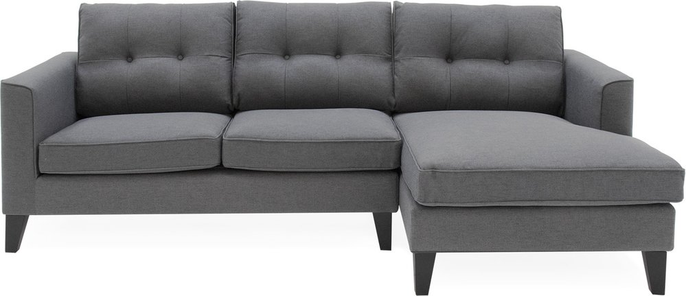 Photo of Astrid Grey Fabric Right Facing Corner Sofa