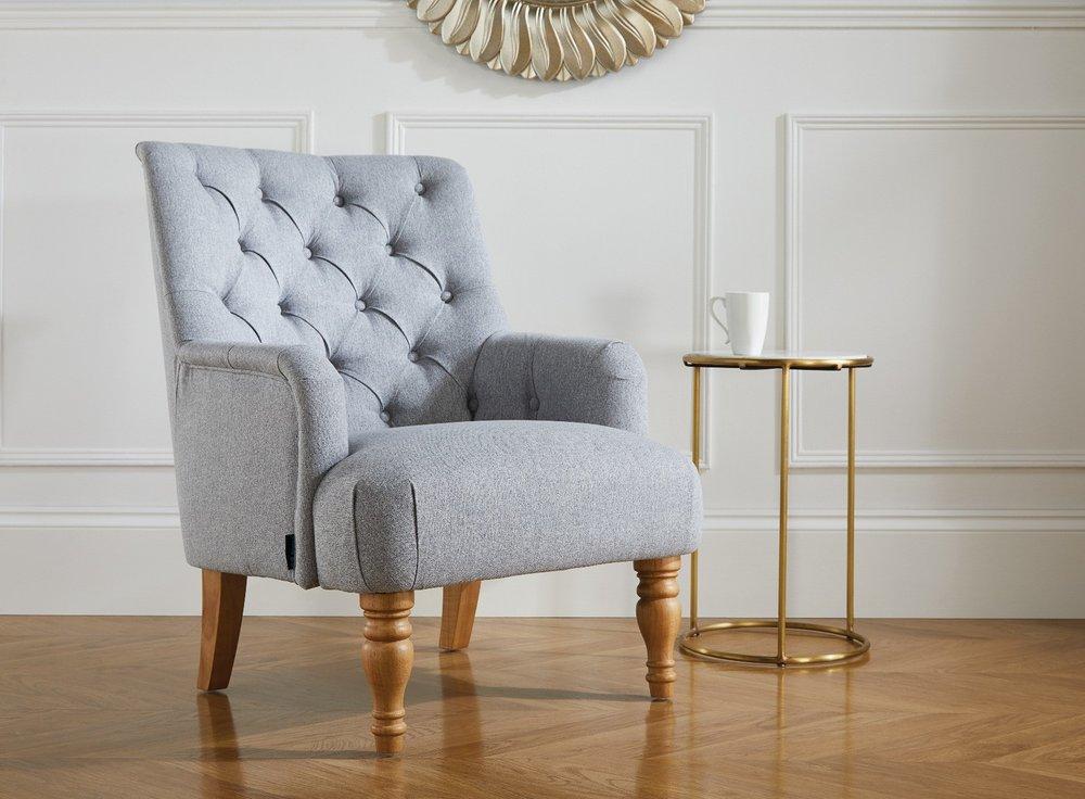 Photo of Marianne Grey Armchair