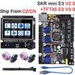 BIGTREETECH SKR MINI E3 V2 Control Board TMC2209 UART+TFT35 E3 Touch Screen 3D Printer Parts For Creality Ender 3/5 CR10 TFT35