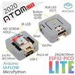 M5Stack 2020 New Arrivial Official ATOM Lite ESP32 Development Kit Neo LED Arduino Blockly Programmable Kit