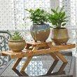 Holder Planter Table Flower Shelf Garden Bamboo Outdoor Display Stand Indoor Multilayer Home Decor Plant Living Room Pot Rack