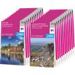 Complete set of 204 OS Landranger maps