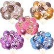 15pcs 12 Inch Confetti Balloon Set