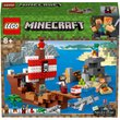 LEGO Minecraft: The Pirate Ship Adventure Toy (21152)