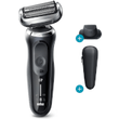 Braun Series 7 Master 70N1200s Electric Shaver  Black  Precision Trimmer + Shaver Head Replacement