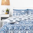 in homeware Duvet Set  Blue Mandala  Super King