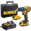 DeWalt DCD791 18v XR Cordless Brushless Drill Driver 2 x 2ah Li-ion Charger Case