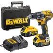 DeWalt DCD791 18v XR Cordless Brushless Drill Driver 2 x 5ah Li-ion Charger Case