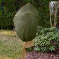 Rosenvlieshaube, 3er-Set, 80x75 Zentimeter, Vlies, braun