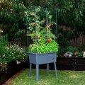 Hochbeetgarten-Komplett-Set, medium 40x60x160 Zentimeter