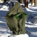 Winterschutzhülle, 150 Zentimeter, Polypropylen, olivgrün