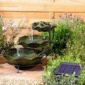 Solar-Wasserspiel Froschkaskade