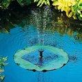Teich-Wasserspiel Solar-Seerosenblatt-Fontäne
