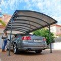 Palram Carport Vitoria 5000, Aluminium/Stahlm 500cmx291cmx239cm, grau