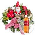 Santa Claus und Feuer und Flamme - Heißer Granatapfel