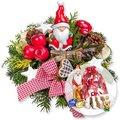 Santa Claus und Süßer Adventsgruß