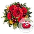 Last Christmas und Windlicht Rubin