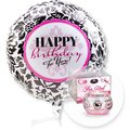 Ballon Happy Birthday Black and White und Dreamlight For You