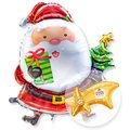 Riesenballon Santa Claus und Ferrero Rocher Sternschnuppe