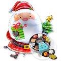 Riesenballon Santa Claus und Adventskaffee