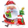 Riesenballon Santa Claus und Mon Cheri Stiefel