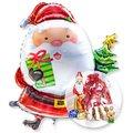 Riesenballon Santa Claus und Süßer Adventsgruß