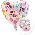 Ballon Ich hab dich lieb! und Dreamlight For You
