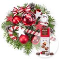 American Christmas und Pralinen-Herzen