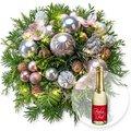 Weihnachtswunder mit Lichterkette und Xmas-Goldtraum-Piccolo