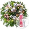 Weihnachtswunder mit Lichterkette und Handcreme Merry Christmas