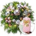 Weihnachtswunder mit Lichterkette und Belgische Pralinen-Auslese