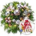 Weihnachtswunder mit Lichterkette und Süßer Adventsgruß