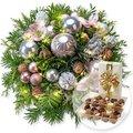 Weihnachtswunder mit Lichterkette und Belgische Pralinen