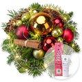Lichterglanz mit Lichterkette und Handcreme Merry Christmas