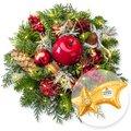 Adventszauber mit Lichterkette und Ferrero Rocher Sternschnuppe