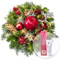 Adventszauber mit Lichterkette und Handcreme Merry Christmas
