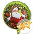 Ballon Nostalgie-Santa und Ferrero Rocher Sternschnuppe