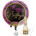 Singender Ballon Happy Birthday Glamour und Freixenet Semi Seco