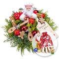 Weihnachtsbäckerei  und Süßer Adventsgruß