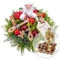 Weihnachtsbäckerei und Belgische Pralinen