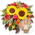 Goldener Herbst und Freixenet Semi Seco