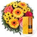 Sonnenschein und Champagner Veuve Clicquot