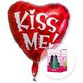 Ballon Kiss me und Mein magischer Märchenprinz