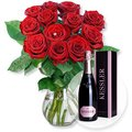 Red Romance und Kessler Rose Sekt