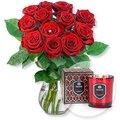 Red Romance und Duftkerze