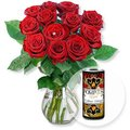 Red Romance und POMPÖÖS-Royal Secco Erdbeer-Mango